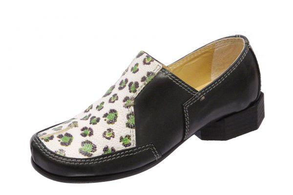 Anke 01 grün leopard