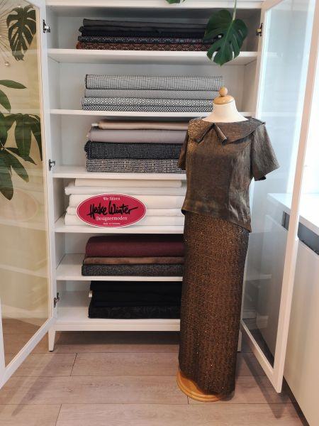 zweiteiliges Kleid in oliv Größe 38