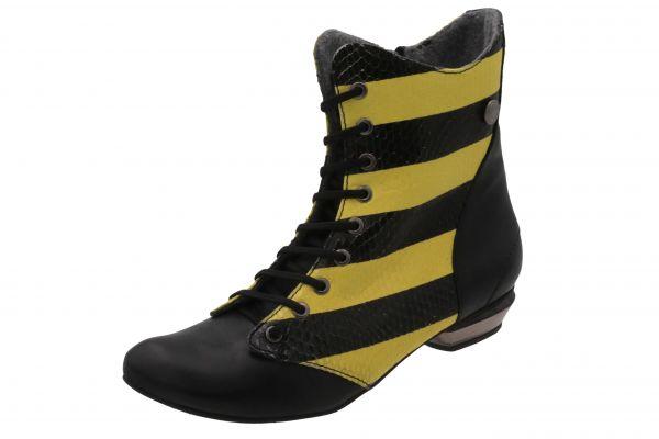 Paula 05d schwarz-gelb Ti-Autoschuh